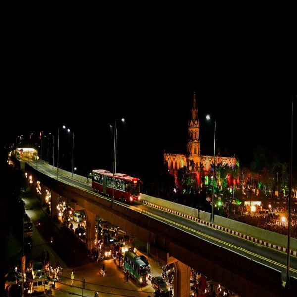 Metro Bus Islamabad: NESPAK FOUNDATION